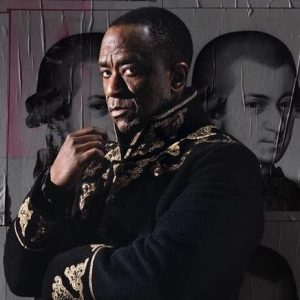 Lucien Msamati as Salieri at the National Theatre