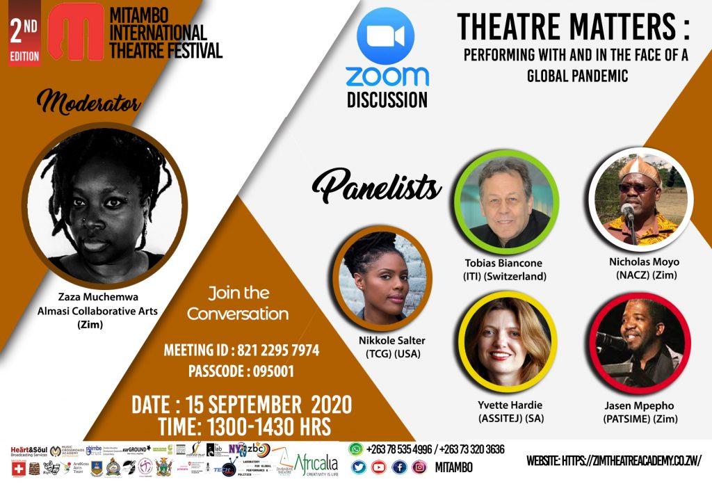 Mitambo International theatre Festival